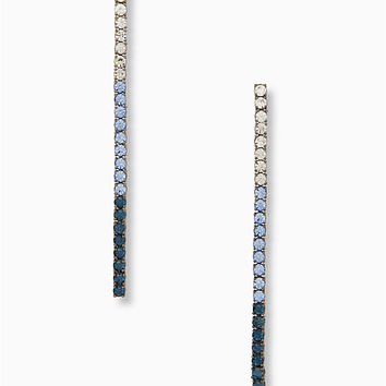 glitzville linear earrings