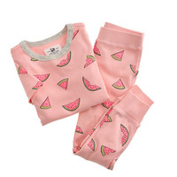 crewcuts Girls Pajama Set In Watermelons