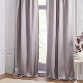 Sateen Curtain - Cloudburst