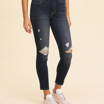 3c4b33b30439 Girls Hollister High-Rise Crop Super from Hollister Co.