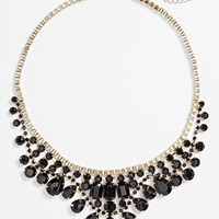 Junior Women's BP. Crystal Statement Necklace