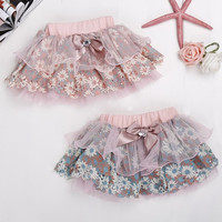 Kids Girl Princess Flower Tutu Dress Party Formal Lace Puffy Skirt For 2-7 Years 7_S = 1916365508