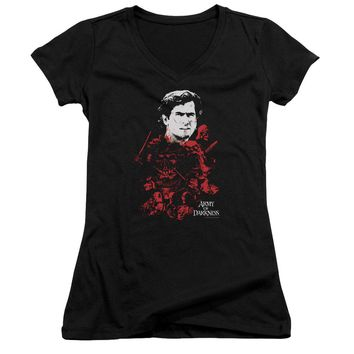 Army Of Darkness - Pile Of Baddies Junior V Neck