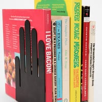 Hands-On Book End - Set Of 2