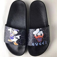 Gucci :Casual Fashion men with women Sandal Slipper Shoes Boy with Girl Slippers B