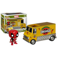 Deadpool Chimichanga Truck Pop Rides