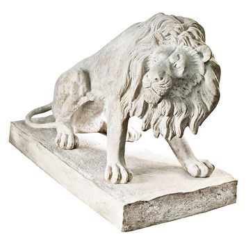 Park Avenue Collection Kingsbury Garden Lion Looking Right         Frt-Nr