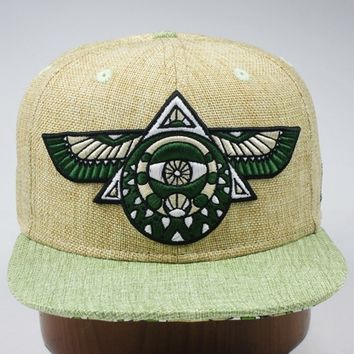 Flying Third Eye Hat (Hemp)