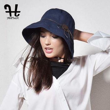 LMFUX5 FURTALK Women&Men Bucket Hat for Fishing Beach Cotton Hat Summer Hats for Women Fashion Design Foldable Brimmed