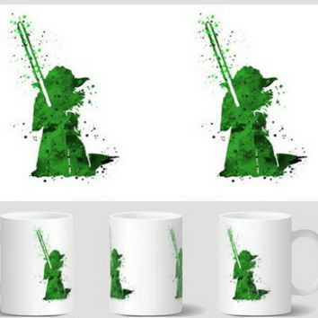 star wars yoda mug Coffee Mugs cups beer tea cup home decal ceramic Cups birthday gifts travel beer cup