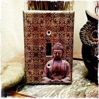 Buddha Light Switch Cover