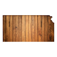 Kansas Faux Wooden wall decal