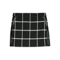 Buy Mango Check Miniskirt, Black | John Lewis