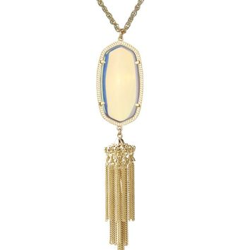 Rayne Necklace in Clear Iridescent - Kendra Scott Jewelry
