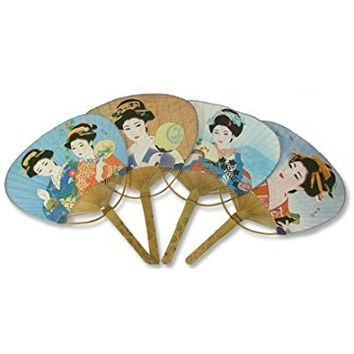 Japanese Geisha Fans for Dancing