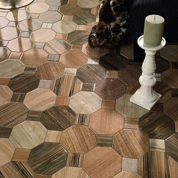 Merola Tile Kyoto Nogal 17-3/4 in. x 17-3/4 in. Ceramic Floor and Wall Tile (17.87 sq. ft. / case)-FCG18KYN - The Home Depot