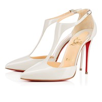 J String 100 Etain Patent Leather - Women Shoes - Christian Louboutin