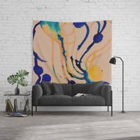 Creature Wall Tapestry by duckyb