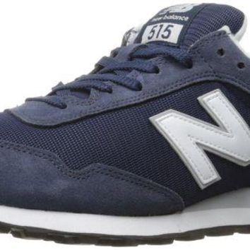 DCCK1IN new balance men s 515 core pack lifestyle fashion sneaker navy white 12 d m us