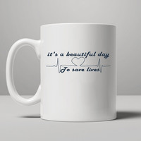 Grey's Anatomy Mug, Tea Mug, Coffee Mug