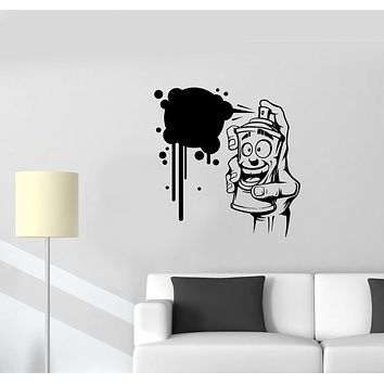 Wall Vinyl Sticker Street Art Decor Balloon Painting Building Arts Decal Unique Gift (ed536)