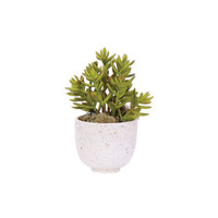 Lux-Art Silks Mixed Succulent Faux Arrangement