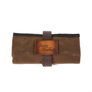 The H. Waxed Canvas Pipe Roll