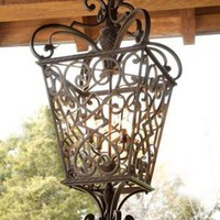 """French Quarter"" Lantern - Horchow"