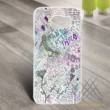 Design Panic At The Disco Lyric Quotes Custom case for Samsung Galaxy