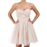 Taylor-Blush Homecoming Dress
