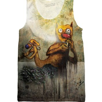 CatDog on Heroin Tank Top