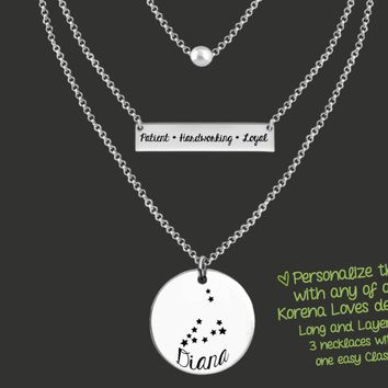 Create Your Own Long and Layered Necklace