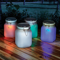 NEW Solar Powered Mason Jars