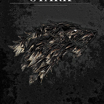Game of Thrones Winter is Coming House Stark Poster