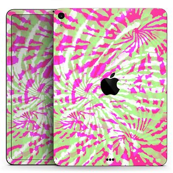 """Spiral Tie Dye V4 - Full Body Skin Decal for the Apple iPad Pro 12.9"""", 11"""", 10.5"""", 9.7"""", Air or Mini (All Models Available)"""