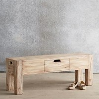 Sura Storage Bench by Tracey Boyd Neutral One Size House & Home