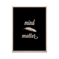 "Skye Zambrana ""Mind Over Matter"" KESS Natural Canvas, 16"" x 20"" - Outlet Item"