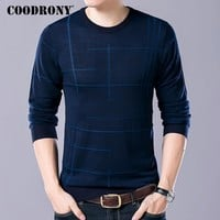 Soft Cashmere Sweater With O-Neck Collar for Men