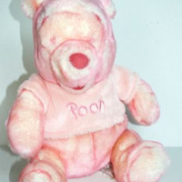 The Disney Store Exclusive Pink Pooh Bear   Pretend Play Plush