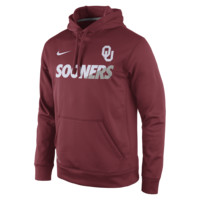 Nike Sideline KO Fleece Pullover (Oklahoma) Men's Training Hoodie