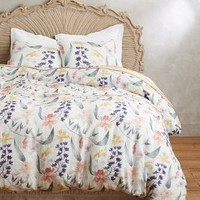 Brushed Orchids Duvet by Nancybird