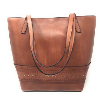 Lucky Brand Addie Tote Toffee
