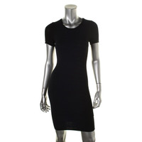 French Connection Womens Printed Knee-Length Sweaterdress