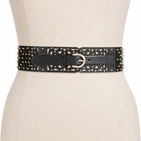 Steve Madden Studded Stretch Belt
