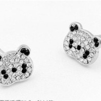 Cute Panda Earrings | LilyFair Jewelry