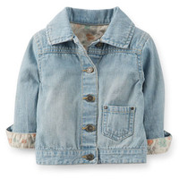 Mini Blues Slub Denim Jacket