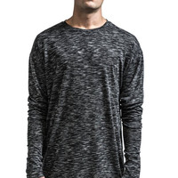 The Bane Layered Longsleeve - Charcoal Grey