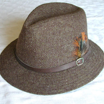 Totes Brown Fedora / Hat