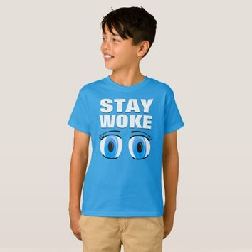 Stay Woke Kids' Hanes TAGLESS® T-Shirt