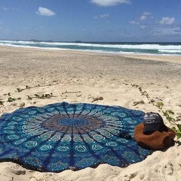 Mandala Patterned Blanket [6368194564]